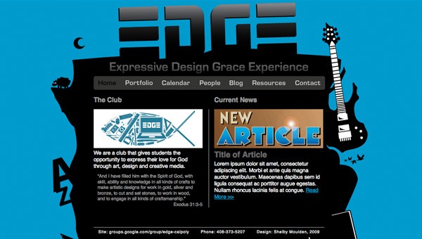 EDGE home page