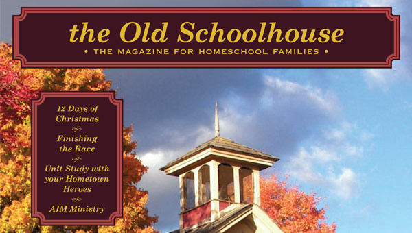 cover of The Old Schoolhouse magazine