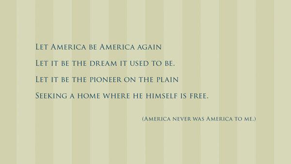 let america be america again essay let america be america again hughes